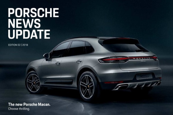 Porsche news update - Edition 2 2018